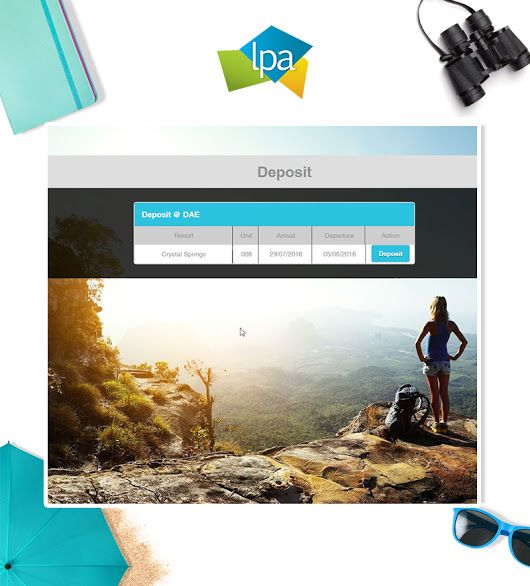 LPA offers an amazing #vacation product, streamlined to make going away #quick and #easy!