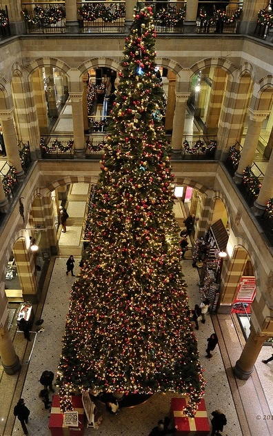 Merry Christmas from Magna Plaza Shopping Center, Amsterdam, The Netherlands