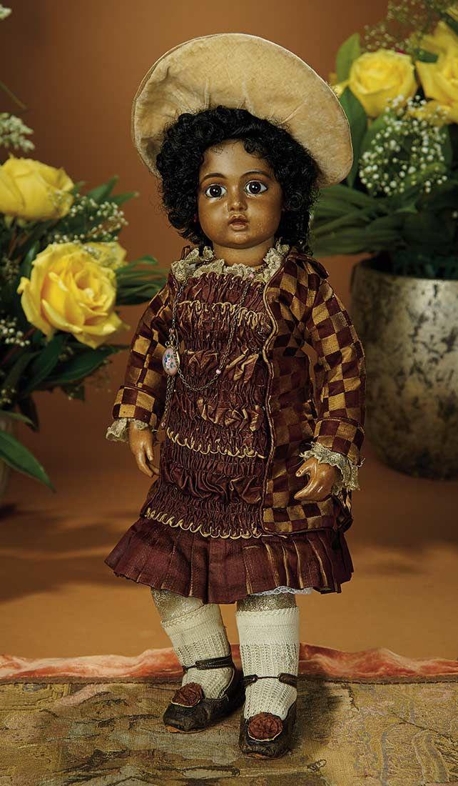 197 Best Black Porcelain Dolls Images On Pinterest