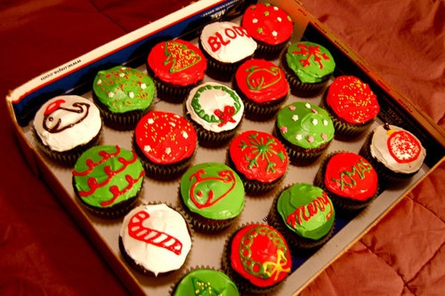 it's a cupcake christmas.