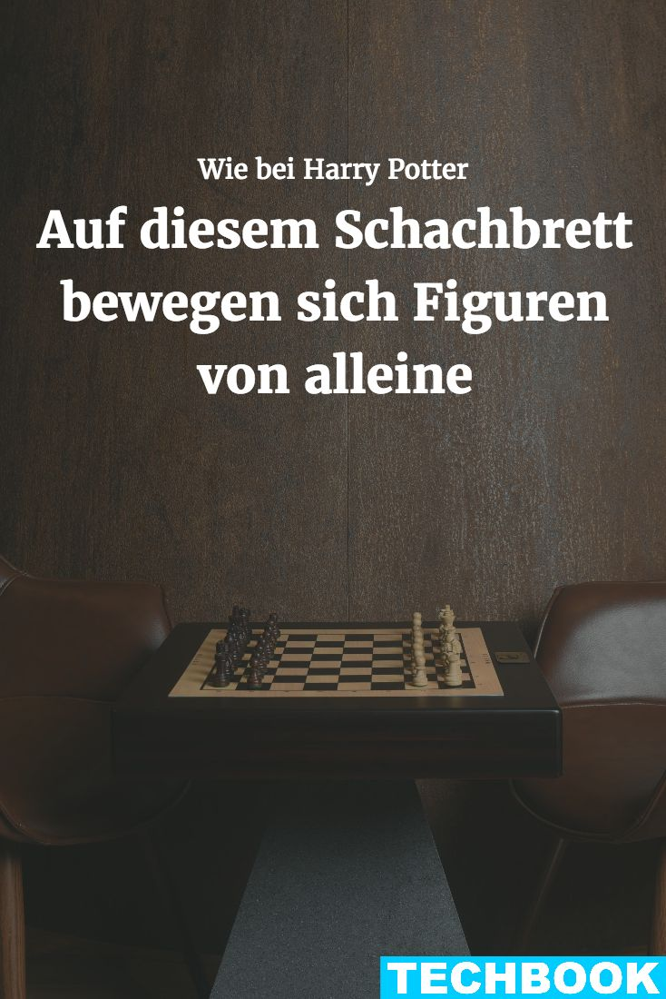 """Das """"Square Off""""-Schachbrett ermöglicht Spielern, eine Runde Schach zu spielen ohne sich direkt gegenüber zu sitzen. (mit Video)"""