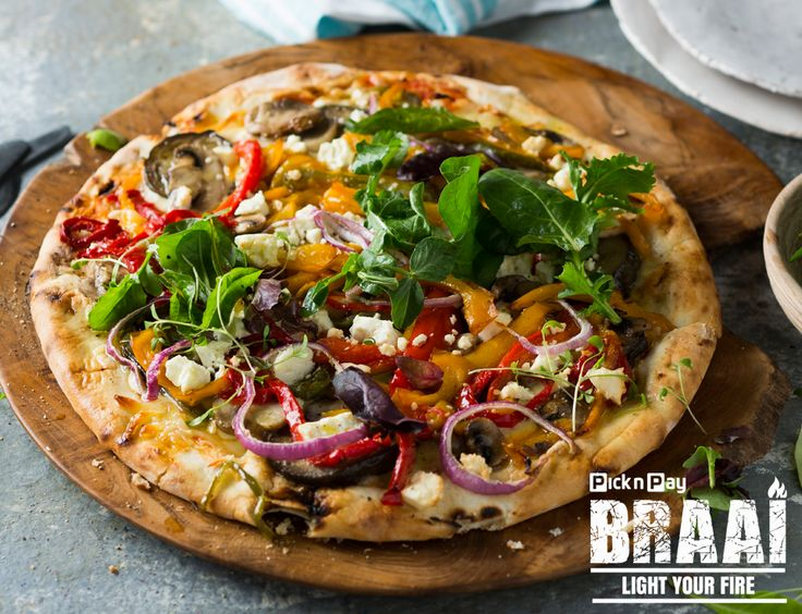 Introducing the famous #PnPBraai Pizza! Because we all perfer that flame-grilled flavour!