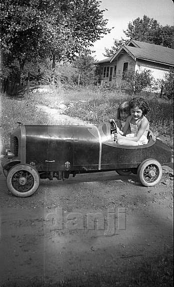 pedal car