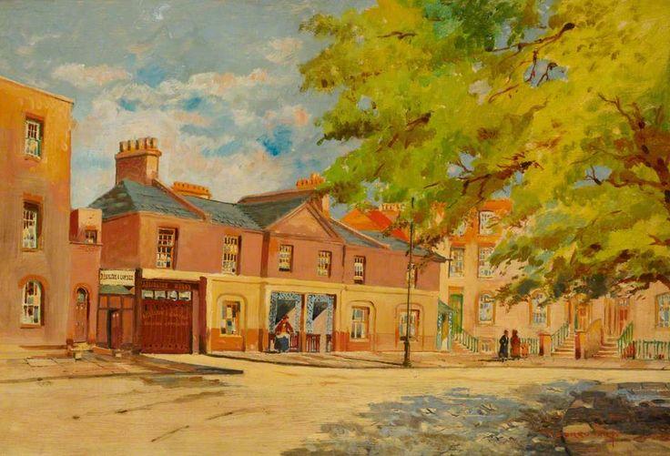 Old Cottages, Addington Square