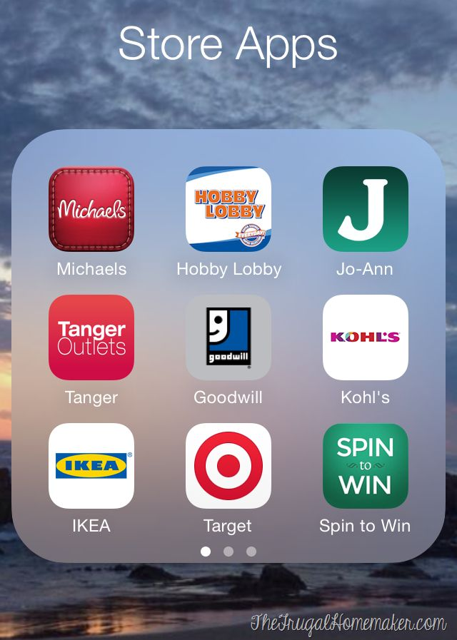 Saving money using apps on your phone