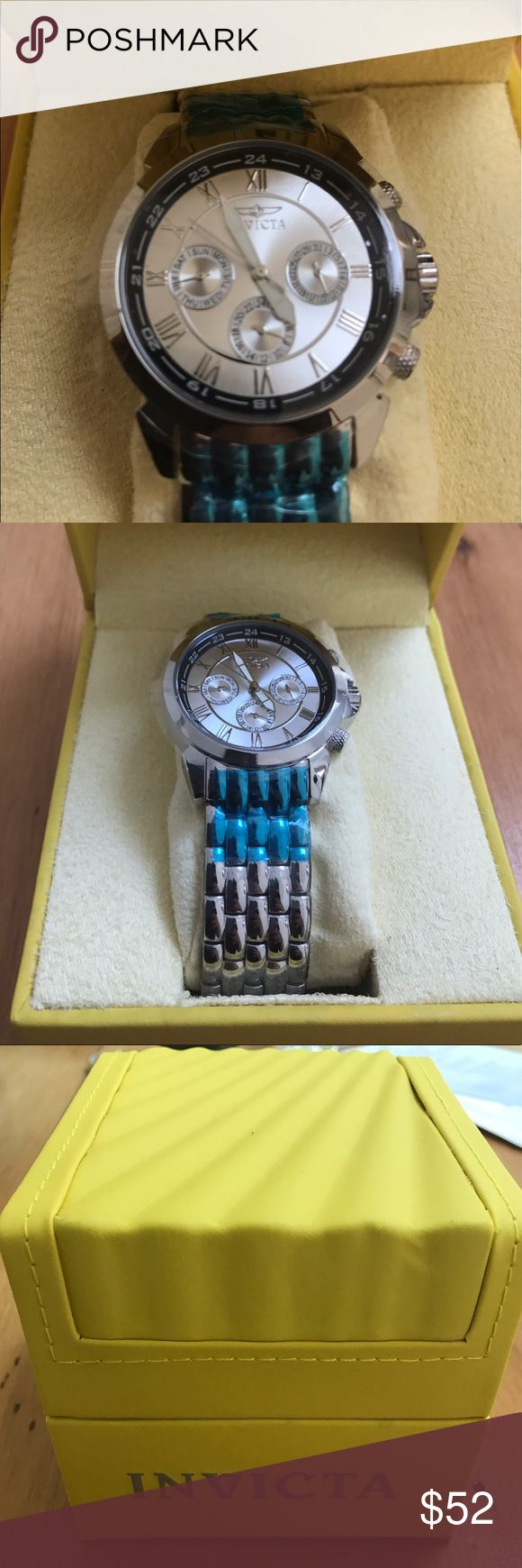 Invicta Men's Silver Watch NWT This Invicta men's watch is NWT and unworn! Invicta Accessories Watches