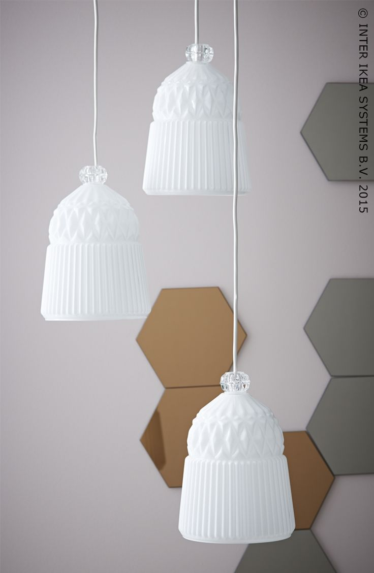 Suspension vanadin ikeabe lumi re clairage design for Eclairage suspension design