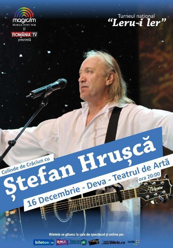 Miercuri, 16 Decembrie 2015, ora 20:00, Teatrul de Arta, Deva