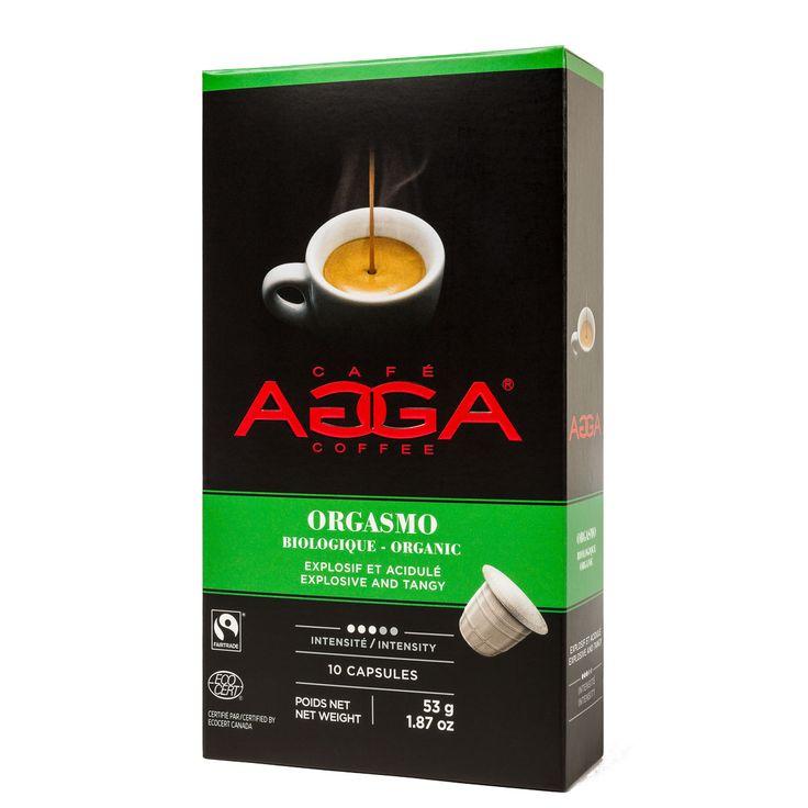 Personal Edge : Agga 99092 Orgasmo Organic Coffee