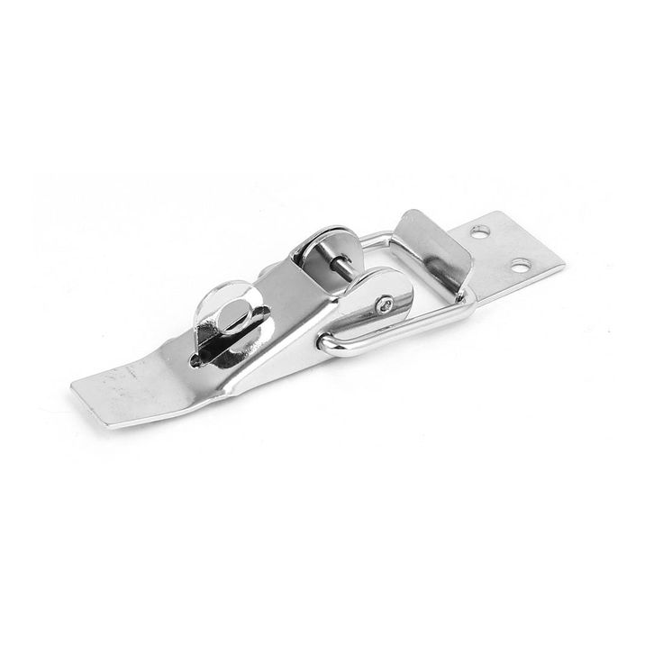 Toolbox Equipment Box Case Metal Chrome (Grey) Plated Toggle Latch Hasp 110mm Length