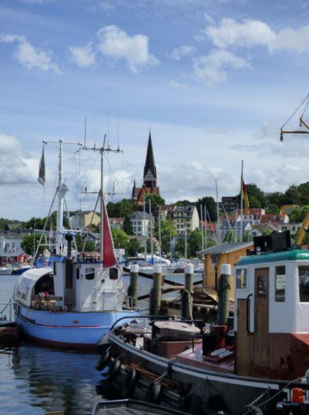 Flensburger Hafen, Foto: S. Hopp