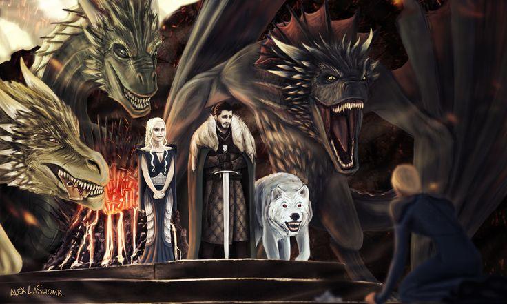 ArtStation - End of the Iron Throne, Alex LaShomb