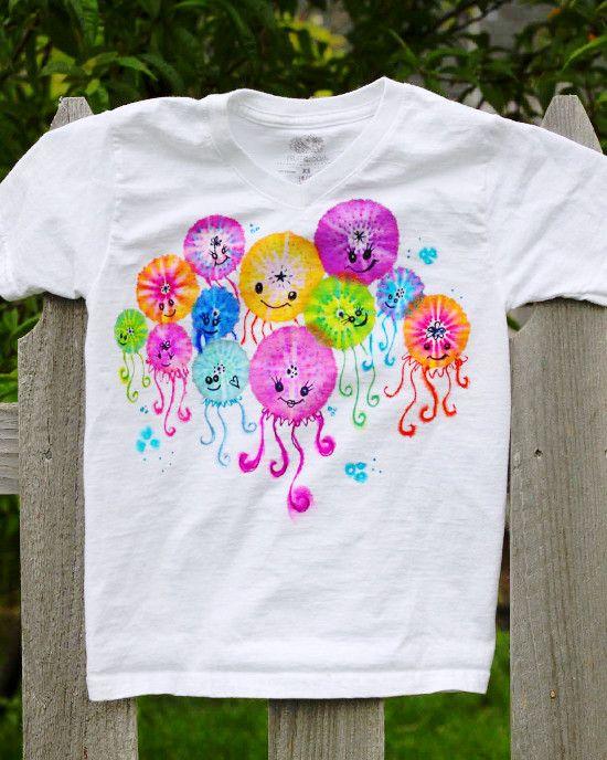 Colorful Jellyfish Shirt