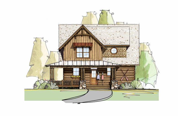 Cabin Home Plan Rustic Log Living Life