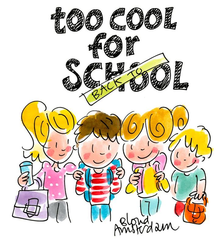 Too cool for school by Blond-Amsterdam