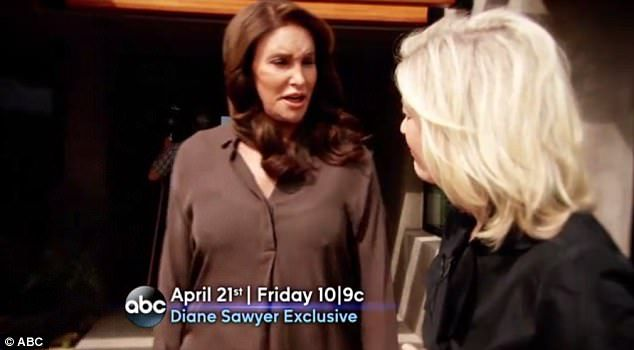 First look: On Friday ABC released a 20-second teaser for Caitlyn Jenner's interview with Diane Sawyer, airing April 21