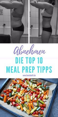 Die ultimativen 10 Meal Prep Tipps