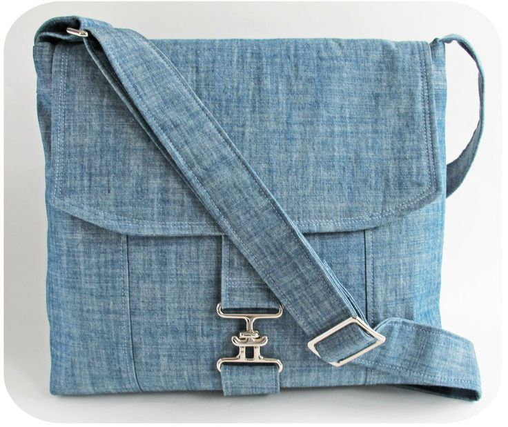 Messenger Bag PDF Sewing Pattern by Michelle Patterns