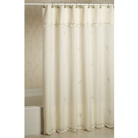 Curtains, Forget me not and Shower curtains on Pinterest