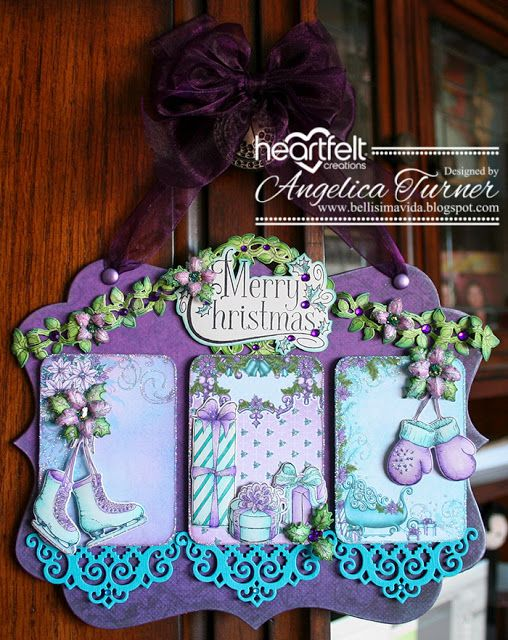 New Celebrate the Season Collection from Heartfelt Creations.