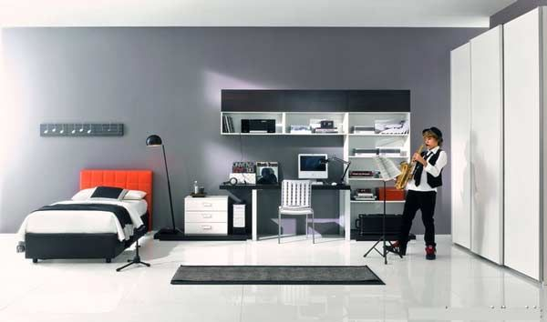 Cool Boy Bedrooms Minimalist Plans Amazing Inspiration Design