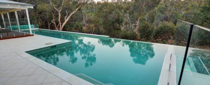 lap pool on sloping block - Google Search