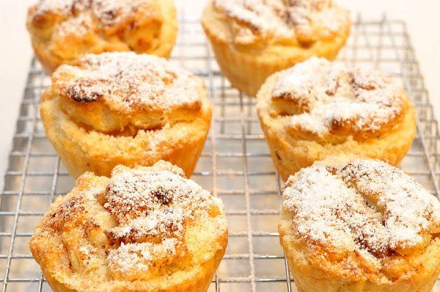 Fabryka Smaku: Francuskie muffinki z jabłkiem