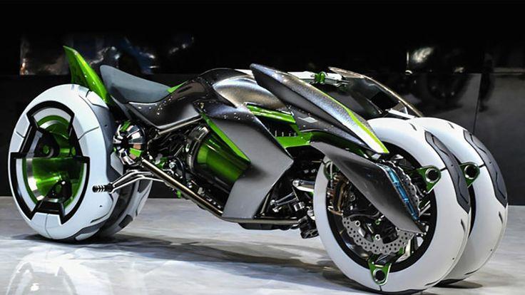 عکس های موتور جدید کاوازاکی - Kawasaki J Concept