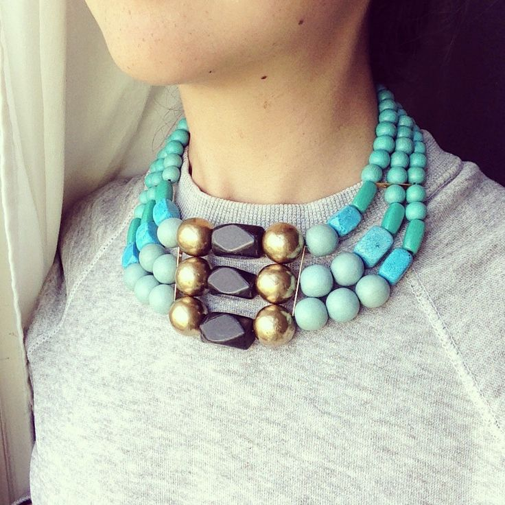 SKYQUEEN necklace by Irene Wood