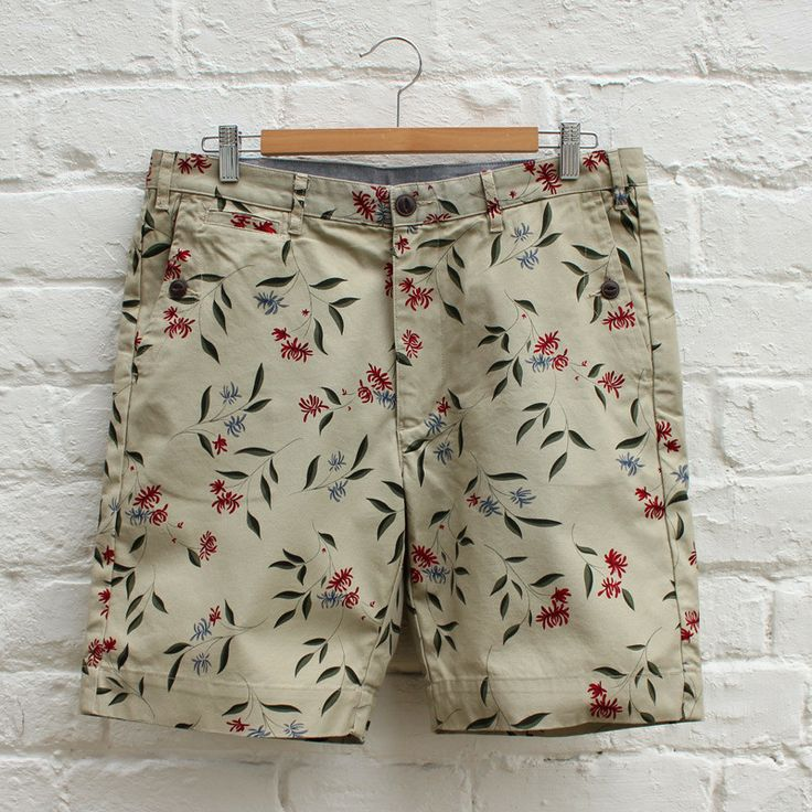 Penfield Gill Twill Shorts - Floral – FUSShop