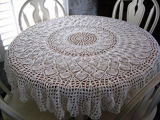 Tablecloth, Ravelry, free pattern
