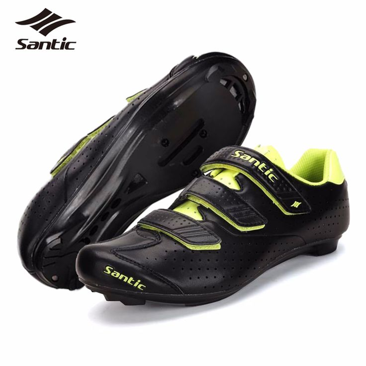SANTIC Mens PRO Road Cycling Shoes 2017 Nylon TPU Road Bicycle Shoes Locking Bike Shoes chaussure velo route Zapatillas Ciclismo