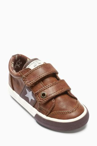 Buy Tan Double Strap Shoes (Younger Boys) online today at Next: United States of America