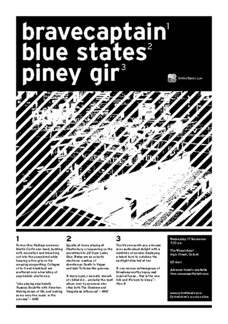 Bravecaptain and Blue States, 2004