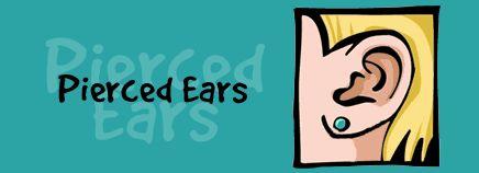 Finally get my ears re-pierced!