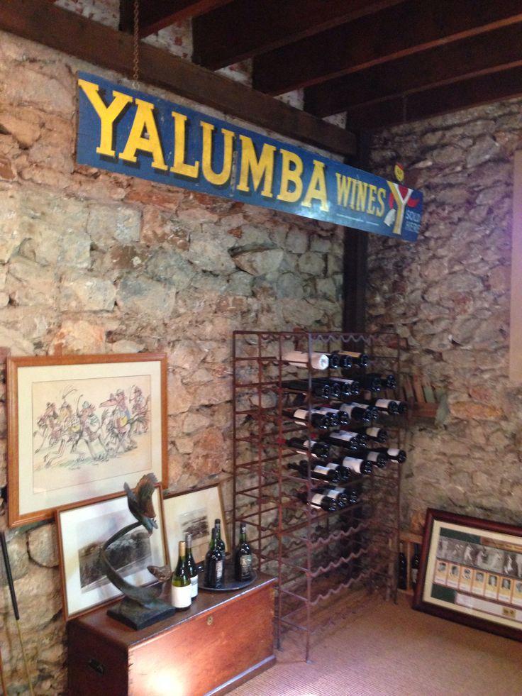 @Yalumba in the Barossa Valley South Australia.
