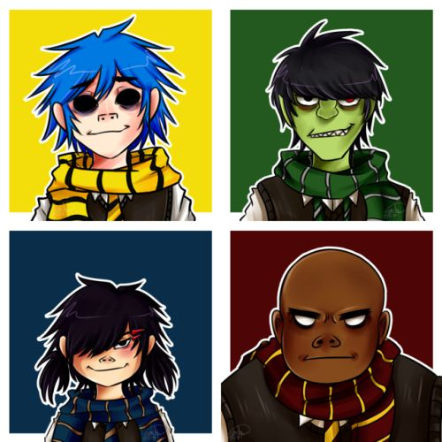 2D'S SMALL ADORABLE FACE LOOk AT IT