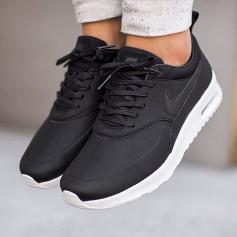"Air Max Thea Premium ""Black/Wolf Grey"""