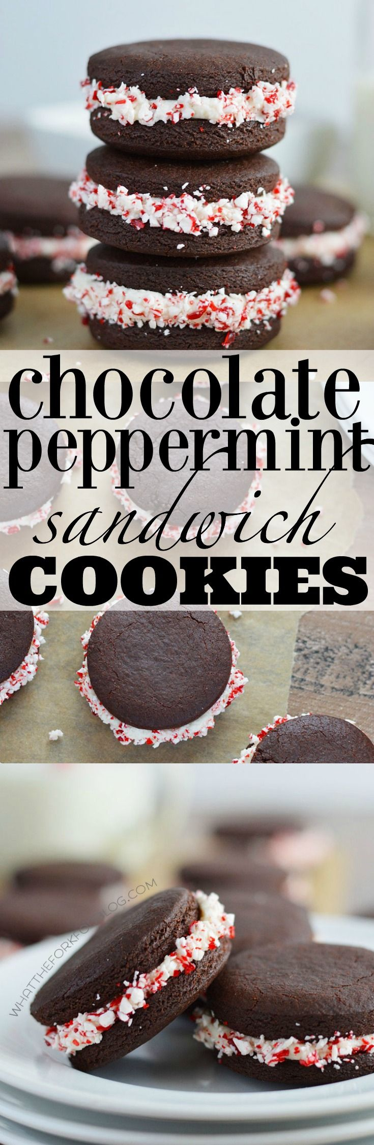Thesechocolate peppermint sandwich cookies are full of chocolate and minty flavors. The crisp chocolate cookies are stuffed with a creamy peppermint filling and coated in crunchy candy cane pieces. I can be a complete sucker for cookies and these Chocolate Peppermint Sandwich Cookies are no exception. They're like a homemade Oreo on steroids. Crispy chocolate...Read More »