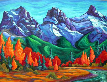 Fred Peters. Awesome Canadian artist.