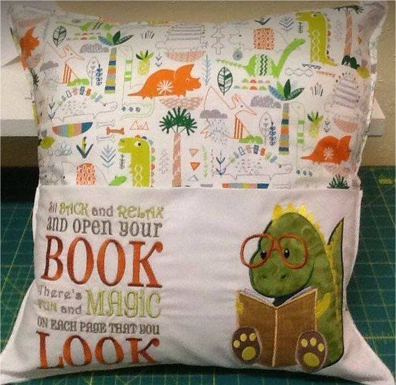 How to Sew a Reading Pocket Pillow