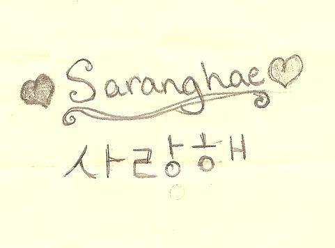 Anh yêu em tiếng Hàn Quốc nói '사랑해' đọc là sa-rang-hae ...