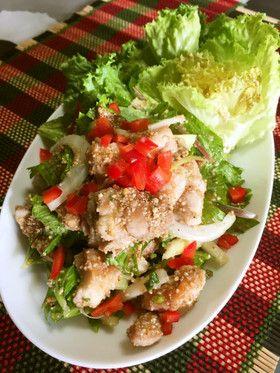 鶏肉と香味野菜のラープ(タイの和え物) by Mikko6 [クックパッド ...