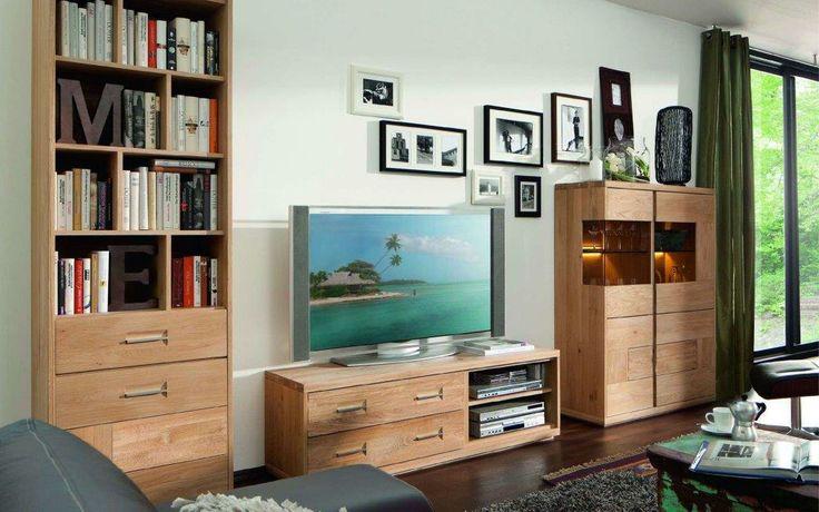 Aranżacja salonu, kolekcja Oakville od Ludwik Styl / Living room, coll. Oakvile, prod. Ludwik Styl