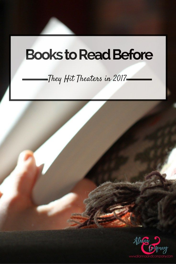 Looking for books to add to your reading list? Check out these books that will become movies in 2017.