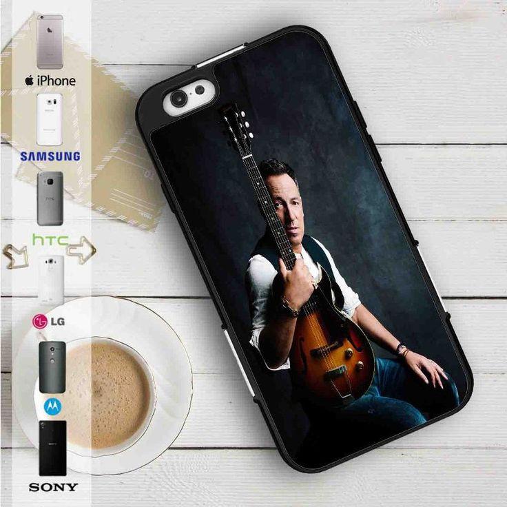 Bruce Springsteen With Guitar iPhone 4/4S 5S/C/SE 6/6S Plus 7| Samsung Galaxy S3 S4 S5 S6 S7 NOTE 3 4 5| LG G2 G3 G4| MOTOROLA MOTO X X2 NEXUS 6| SONY Z3 Z4 MINI| HTC ONE X M7 M8 M9 M8 MINI CASE