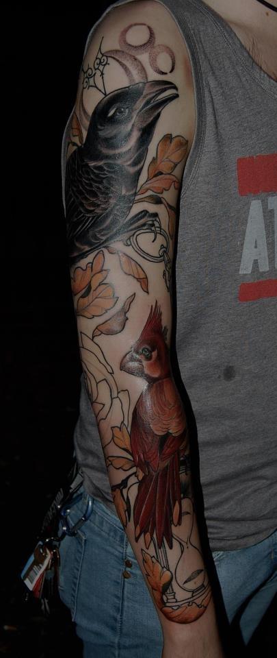 Tattoo by Tiny Miss Becca at Jayne Doe Tattoo in Hornchurch, UK. Beautiful.