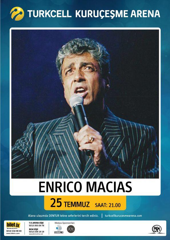 Enrico Macias / 25 Temmuz 2012