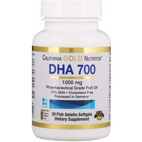California Gold Nutrition Dha 700 Fish Oil Pharmaceutical Grade