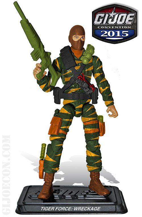 ToyzMag.com » Tiger Force Wreckage exclu JoeCon 2015